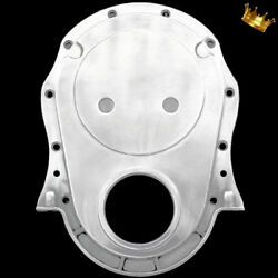 Polished Aluminum Big Block Chevy Timing Chain Cover Fits 396 427 454 Chevrolet