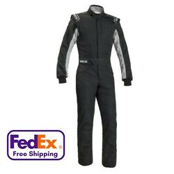 Sparco Sprint Rs-2 1-piece 2-layer Race Suit - All Sizes - Sfi-3.2a/1 Fia Appvd