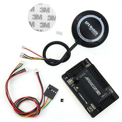 Apm 2.8 Flight Controller Straight Pin + M8n Gps W/ Compass +cable For Fpv Drone
