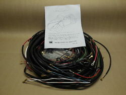 1972-73 1/2 All Karmann Gia Complete Wiring Works Wire Harness Kit - Usa Made