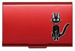 Ghibli Kikis Delivery Servic Metal Card Case Red From Japan