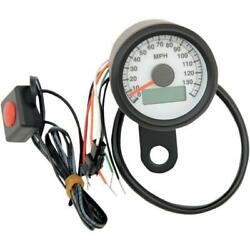 Drag 2210-0260 Programmable Mini Electronic Speedometer With Odometer/tripmeter