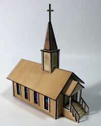 N Scale Country Church Kit
