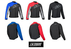 Speed And Strength Mens Hammer Down Textile Jacket Blue Black And Red You Choose