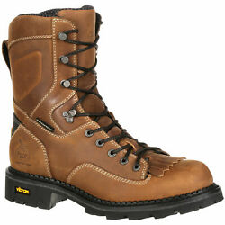 Georgia Gb00123 8 Comfort Core Composite Safety Toe Waterproof Logger Work Boot