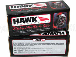 Hawk Race Hp Plus Brake Pads Front And Rear Set For 90-96 Nissan Z32 300zx And Tt