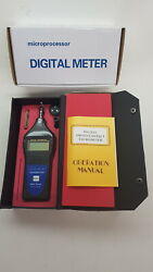 Digital Photo, Contact, Surface Tachometer For Timing Diesel Engines  Tande Tools
