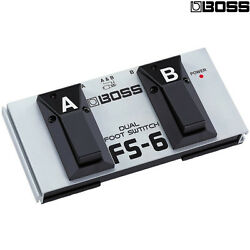 BOSS FS-6 Dual Latch and Momentary Footswitch Pedal NEW l Authorized Dealer