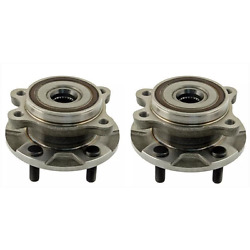 Front Wheel Hub Bearing Assembly For Lexus Gs250 2006-2014 Awd /4wd Pair New