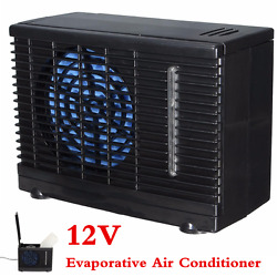 Portable Home Car Cooler Cooling Fan Water Ice 12V Evaporative Air Conditioner