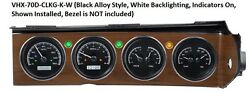 Dakota Digital 70-74 Challenger Cuda with Rallye Dash Gauges Kit VHX-70D-CLG-K-W