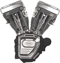 S & S Cycle T111 Long-Block Engine Black 310-0402