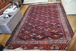 Antique Collector's Very Rare Genuine Turkmen Tekke Yomud Rare Tribal 11 By7