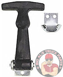 Buyers Products 2-1/2 Miniature Rubber Hood Latch With Bracket, Wj202