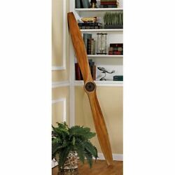 Airplane Vintage Aircraft Propeller Wwi 71 Inches Wood Model Assembled
