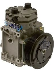 NEW YORK AC COMPRESSOR W PV8 DOUBLE WIRE CLUTCH - YORK ET210L