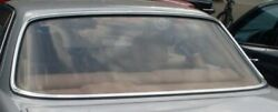 Mercedes Front Windshield Chrome Moulding Surround Trim New Oe W123 Coupe