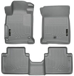 Husky Weatherbeater Liners Front/rear Row 2014-2017 Accord Sedan - Made In Usa