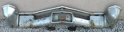 X Cadillac New Triple Plated Chrome Front Bumper 1967 67 Oem