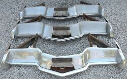 X Lincoln Mark Iii 3 New Triple Plated Chrome Front Bumper 1968-1971 68-71 Oem