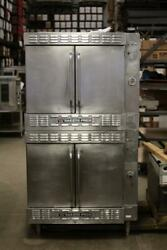 Bakers Pride Double Stack Gas Convection Oven