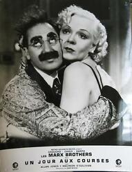 A Day At The Races 1937 Rr1966 Marx Brothers - 6 French Lobby-cards