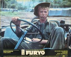 MERRY CHRISTMAS Mr. LAWRENCE 1983 David Bowie - 12 FRENCH LOBBY-CARDS