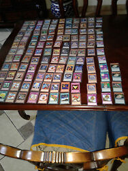 Yugioh Cards Lot Of 125 Near Mint Limited, 1st Ed, Common,rare, Ultra Rare,etc.
