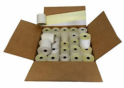 2-ply 3 Inch 90and039 Feet 100 Rolls Carbonless Register Bond Pos Paper Rolls