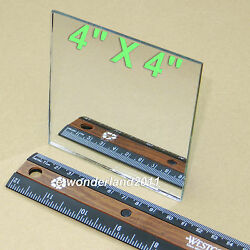 First Surface Mirror 4x4quot; Square aluminized 1 8quot; Thick for Laser printers Sensor