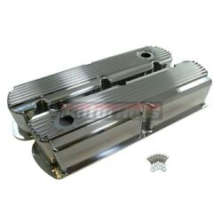 Sbf Small Block Ford Fabricate Fin Aluminum Valve Cover Tall 260-289-302-351w