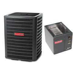 3 Ton 14 Seer Goodman Air Conditioning Condenser And Coil Gsx160361 - Capf4860d6