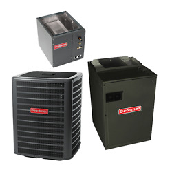 3 Ton 15.5 Seer Goodman Air Conditioning System