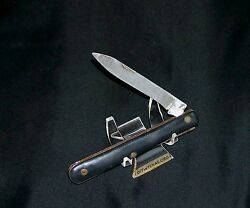 Doctors Knife Wwi Era 4 Closed 1900-1919 No Tang Stamp Early Rosette Rivets