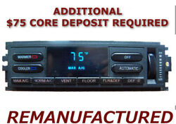 REMAN 93 94 Lincoln Town Car A/C Heater Climate Control EATC, REPAIRED BUTTONS!