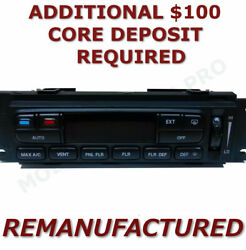 Reman 02-03 Ford F150 A/c Heater Climate Control With Rear Defroster Eatc Exch