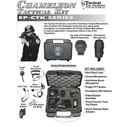 Tactical Ear Gadgets CHAMELEON Tactical Kit for Motorola XTS Two Way Radios