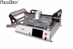 chip mounter NeoDen3V Vision Sysytem SMT Pick And Place Machine 44 Feeders-J