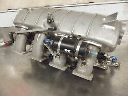 Cosworth DFS Plenum Assembly Complete W Injectors Lola March Indy 500 USAC Race