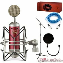 Blue Spark SL Condenser Microphone Home Studio Package Recording Bundle