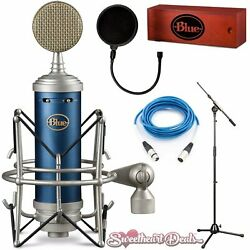 Blue Bluebird SL Condenser Microphone Home Studio Package Recording Bundle