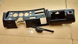 70 71 72 Chevy Chevelle Ss Dash Instrument Cluster Panel Bezel Assembly W/ Vents