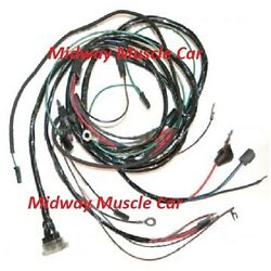 Engine Wiring Harness 64 65 Chevy Corvette 327 Stingray Roadster Vet  With A/c