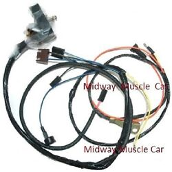 Engine Wiring Harness 69 Chevy Camaro W/ Lights 350 302 327 Ss Rs/ss Z/28