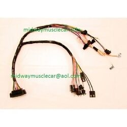 Console Wiring Harness Auto Trans W/ Console Gauges 1969 Chevy Camaro 69