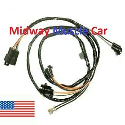 Auto Trans Center Console Wiring Harness 70 1970 Olds Cutlass 442 F85