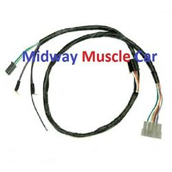 Auto Trans Front Console Wiring Harness 66 67 Pontiac Gto Lemans Tempest