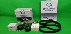 Genuine Ssangyong Rexton Suv 2.0 L And 2.7 L Td Auto Belt Tensioner Service Kit