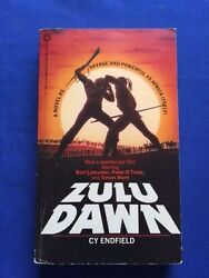 Zulu Dawn - 1st. Ed. By Cy Endfield With Autograph Of Actor Christopher Cazenove