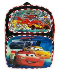 Disney Cars 3 Movie Lightning Mc Queen 16quot; inches Backpack School kids Book Bag $19.99